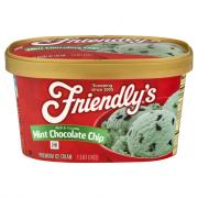 Friendly's Mint Chocolate Chip Ice Cream