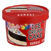Friendly's Sundae To Go - Celebration Cake
