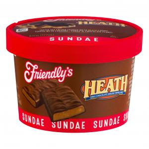 Friendly's Heath Bar Sundae Cup