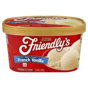 Friendly's French Vanilla Ice Cream