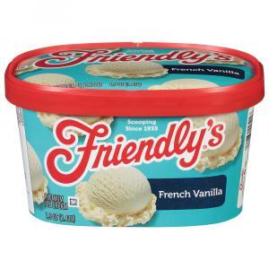 Friendly's French Vanilla Ice Cream