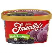 Friendly's Black Raspberry Ice Cream