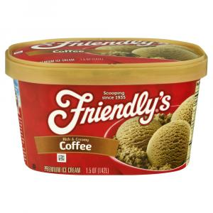 Friendly's Red Box Coffee Ice Cream