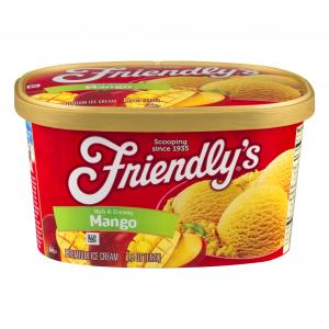 Friendly's Mango Ice Cream