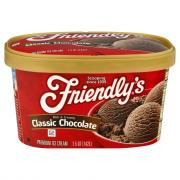 Friendly's Chocolate Ice Cream