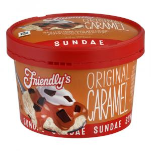 Friendly's Original Caramel Sundae Cup