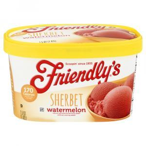 Friendly's Watermelon Sherbet