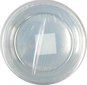 """10"""" Clear Round Plates"""