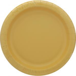 Sensations Luncheon Plate Soft Yellow