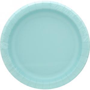 Sensations Luncheon Plate Spa Blue