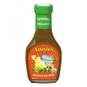 Annie's Organic Sesame Ginger Vinaigrette Dressing