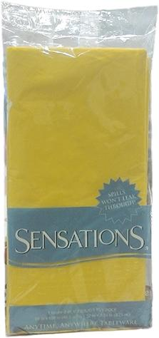 Sensations Tablecover Yellow