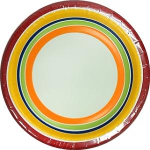 "Sensations 7"" Luncheon Plate Jubilant"
