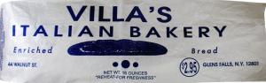 Villa's Sliced Italian Bread