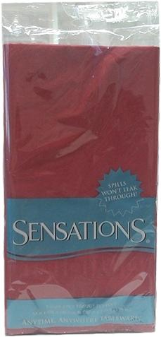 Sensations Tablecover Red