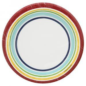 Sensations Luncheon Plate Hip Hip Hooray