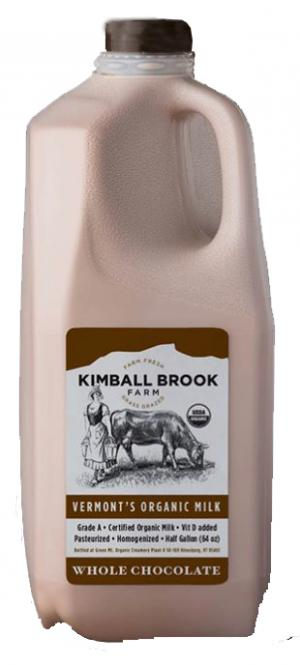 Kimball Brook Farm Organic Whole Chocolate Milk