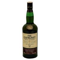 Glenlivet Single Malt French Oak 15 Year Scotch 80 Proof