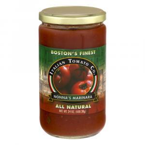 Italian Tomato Co. Nonna's Marinara Sauce