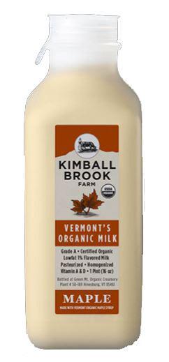 Kimball Brook Farm Organic Maple Milk