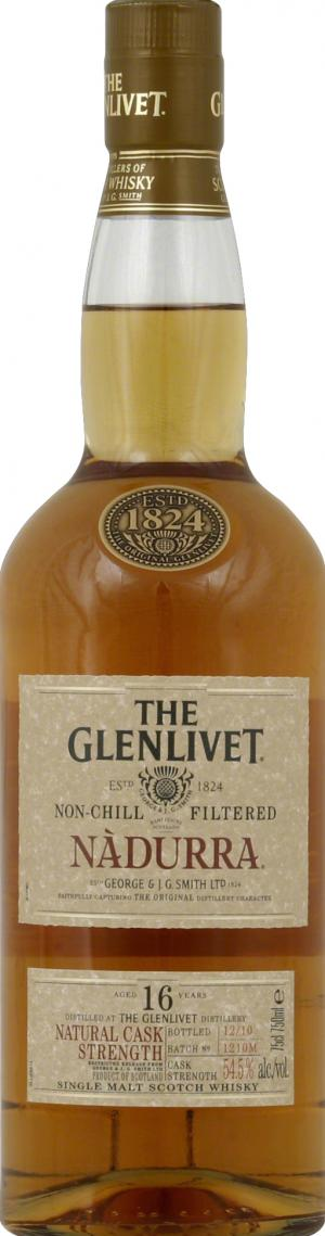 Glenlivet Nad 16 Year Old Scotch