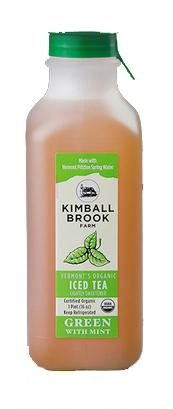 Kimball Brook Farm Organic Green Tea with Mint Sweetened