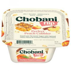 Chobani Flip Peach Cobbler Yogurt