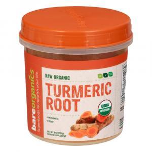 Bare Organics Raw Turmeric Root