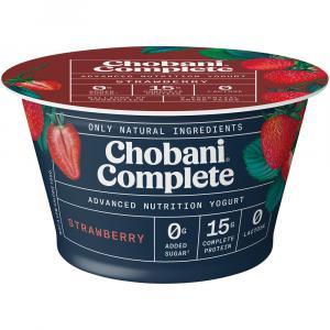Chobani Complete Strawberry Yogurt