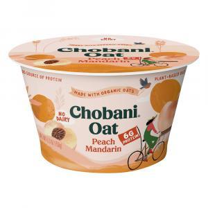 Chobani Non Dairy Plant-Based Oat Blend Peach Mandarin