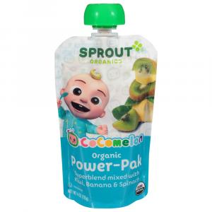 Sprout Power Pak Organic Kiwi with Superblend Banana &