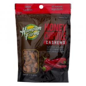 Hampton Farms Honey Chipotle Cashews