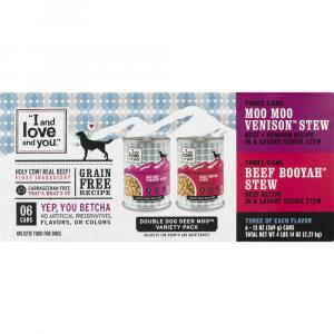 """""""I and Love and You"""" Double Dog Deer Moo Variety Pack"""