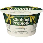 Chobani Probiotic Vanilla Blended Yogurt