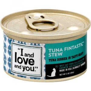 """I and Love and You"" Tuna Fintastic Stew Cat Food"