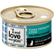 """""""I and Love and You"""" Tuna Fintastic Stew Cat Food"""