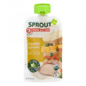 Sprout Stage 3 Organic Baby Food Creamy Vegetables with