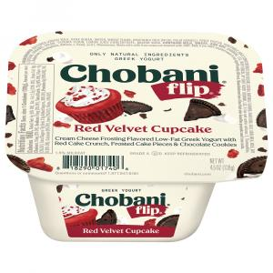 Chobani Flip Red Velvet Cupcake Yogurt