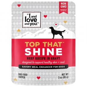 """""""I and Love and You"""" Top That Shine Beef Flavor"""
