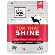 """I and Love and You"" Top That Shine Beef Flavor"