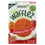Sprout Organic Pumpkin Butter & Jelly Wafflez Snack