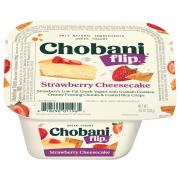 Chobani Flip Strawberry Cheesecake Low-Fat Greek Yogurt