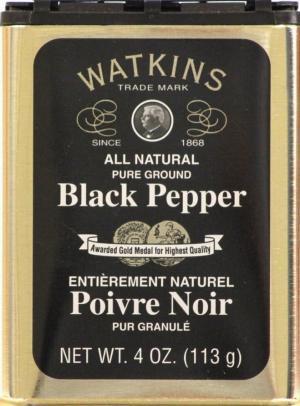 Watkins Pure Ground Black Pepper
