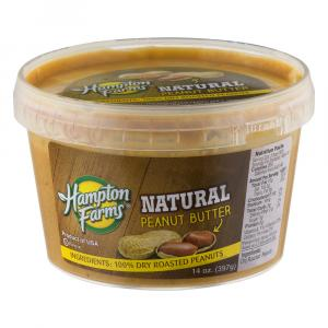 Hampton Farms Natural Peanut Butter