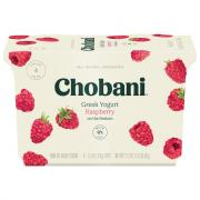 Chobani Raspberry Yogurt