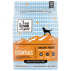 """I and Love and You"" Naked Essentials Dog Food"
