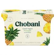 Chobani Pineapple Greek Yogurt