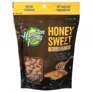Hampton Farms Honey Sweet Cashews