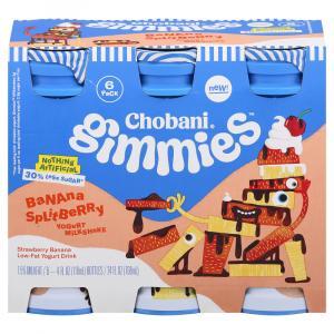 Chobani Gimmies Banana Splitberry Yogurt Milkshake