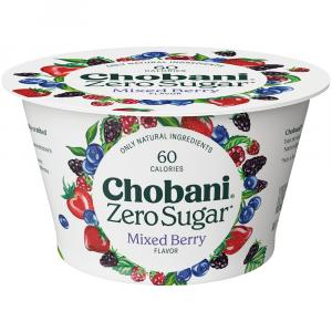 Chobani Zero Sugar Nonfat Yogurt Mixed Berry